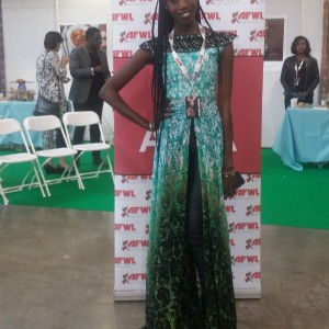 Africa Fashion Weekend 2015 Visitor