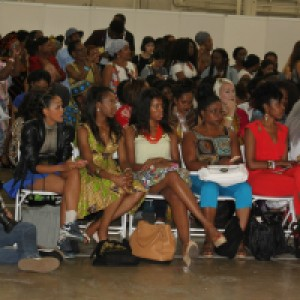 Audience at Africa Fashion Weekend 2015 Catwalk