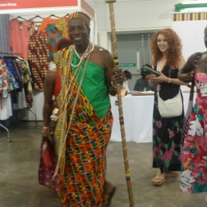 Africa Fashion Weekend Visitors