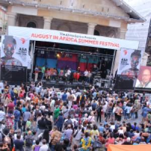 Africa in Covent Garden 2015 Crowd