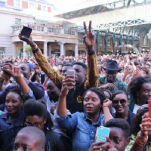 Africa in Covent Garden London 2015 Audience 2