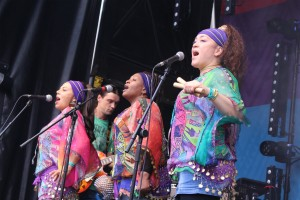 Singers at Africa Centre 2015 Festival