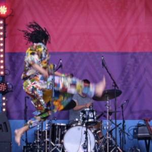 Musician at Africa Centre Festival
