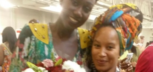 Ndeyfatou Ceesay Fashion designer Noir Style Africa and Lena Grey Johnson, Organiser Gambia Fashion Weekend