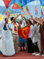 Dancers at Annual Eritrean UK Festival 2015