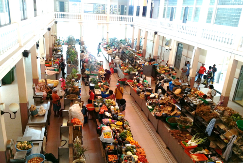 The market stalls at Mercado Municipal, Mindelo