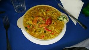 Seafood Paella, Ribiera Grande, Santa Antao