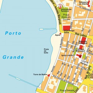(S_CV_Mindelo_Map.jpg - Map: Mindelo sea front; from here, all the structures discussed are a short walk away)