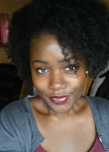 Mahalia's first natural hair journey