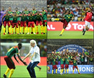 Africa Cup of Nations 2017 Winners Cameroon