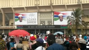 Adama Barrow Inauguration