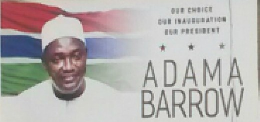 Adama Barrow by Cherno Jallow