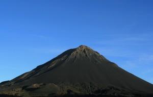 Mount Fogo, still active, on Fogo