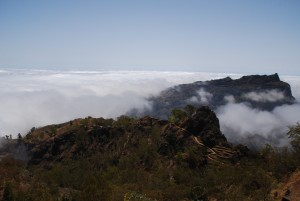 Above the clouds, Santo Antao