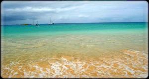 Stunning beach Cabo Verde  Photo: Paula Moio