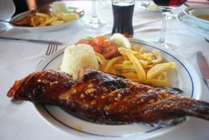 Delicious fresh seafood  Photo: Paula Moio