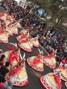 Scenes from Mindelo Carnival, 2018  Photo: Paula Moio