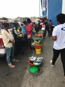 Street fare, Mindelo  Photo: Paula Moio